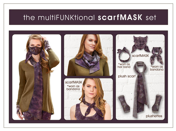 the multiFUNKtional scarfMASK set