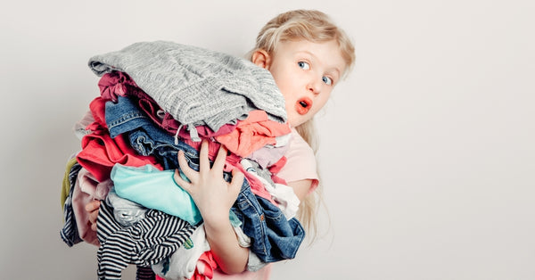 Tips For Sorting Clothing From Children's Wardrobe