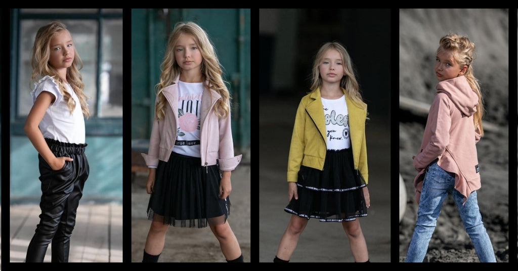 How To Combine Individual Pieces Of Children´s Clothing
