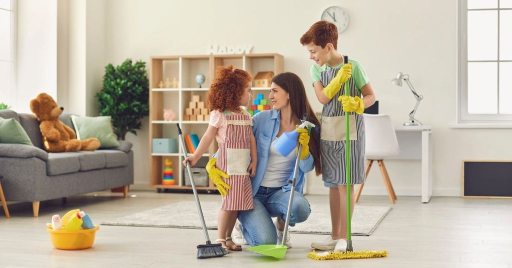 How To Involve Children In Cleaning