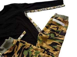 Camouflage tracksuit bottoms Tracksuit Bottoms