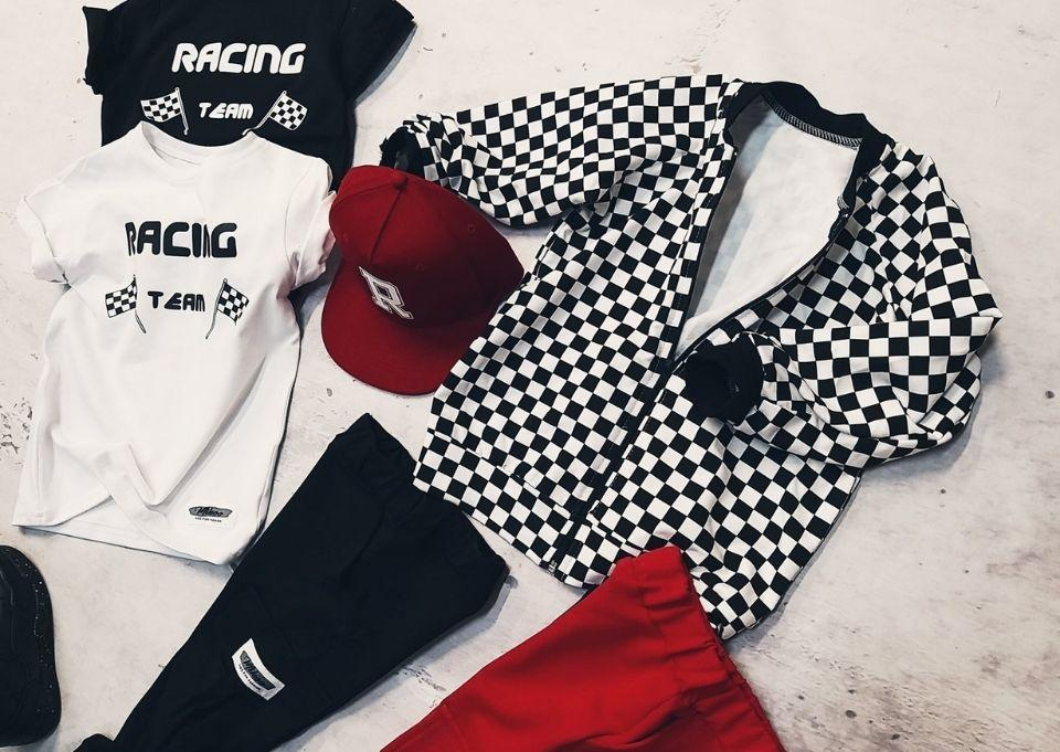 Checkered bomber sweatshirt Sweatshirts