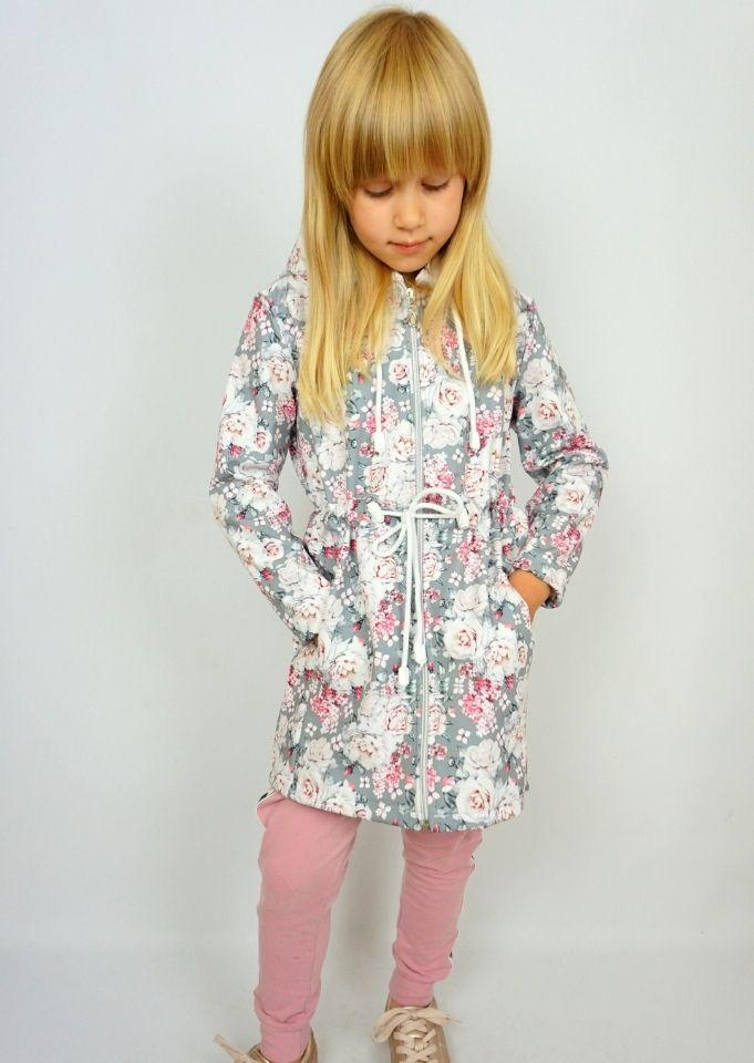 Coats and jackets in delicate flowers print for mums and daughters Coats