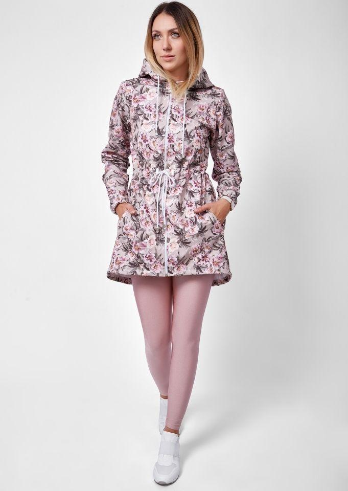 Coats and jackets with a floral pattern for mums and daughters Coats