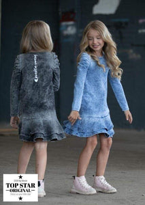 Jeans dress with long sleeves Dresses