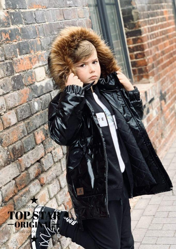 Metallic black winter jacket MATRIX Jackets