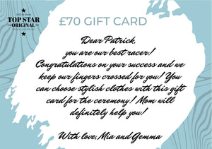 PERSONALIZED GIFT CARDS Gift cards