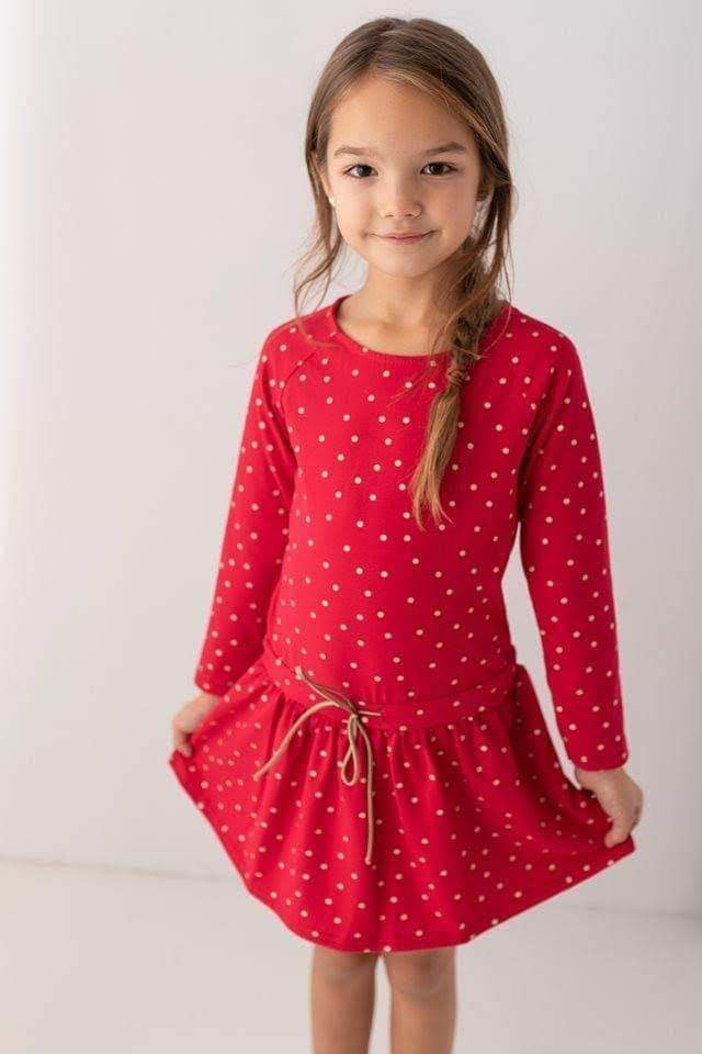 Red polka dot dress Dresses