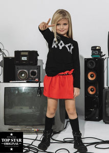 Red skirt/shorts ROCK STAR Skirts