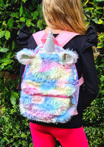 Unicorn plush backpack Backpacks