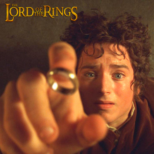Anillo Dorado Lord of the Ring