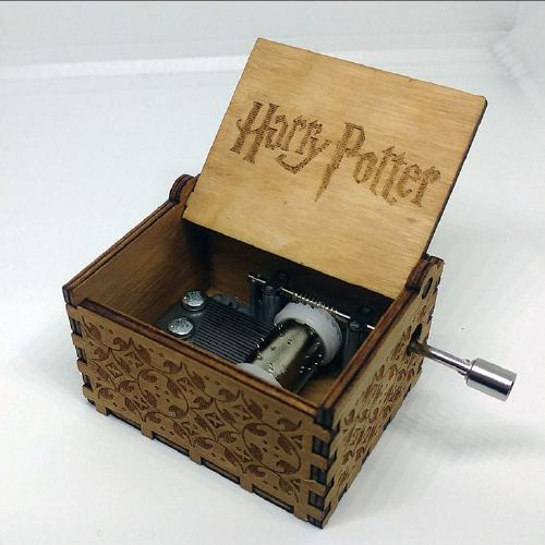 Caja musical Harry Potter
