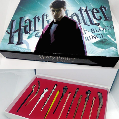 Caja de Varitas Harry Potter