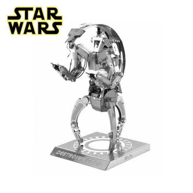 Modelo 3D Star Wars Destructor Droid