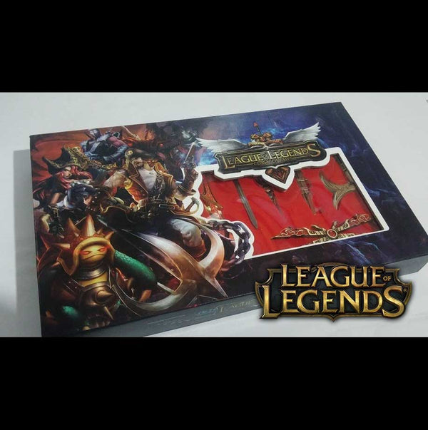 Set Llaveros League of Legends 1