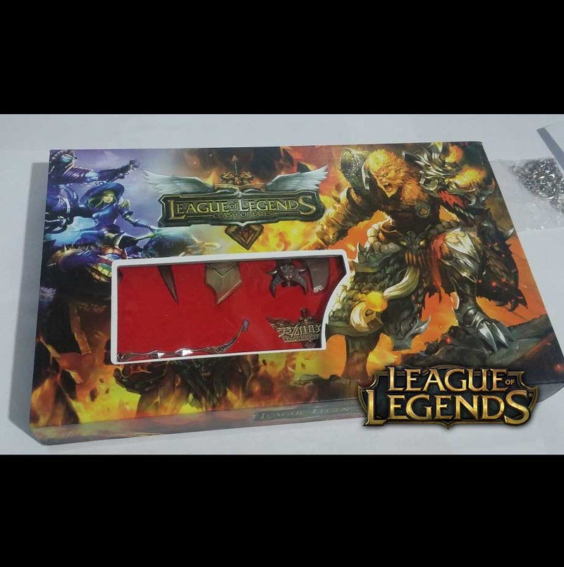 Set Llaveros League of Legends 3