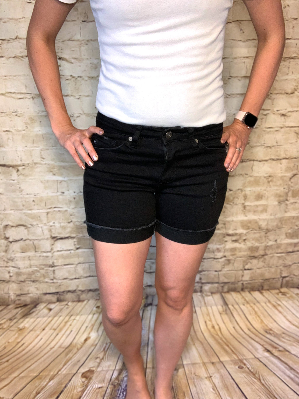 Bailey Black KanCan Shorts