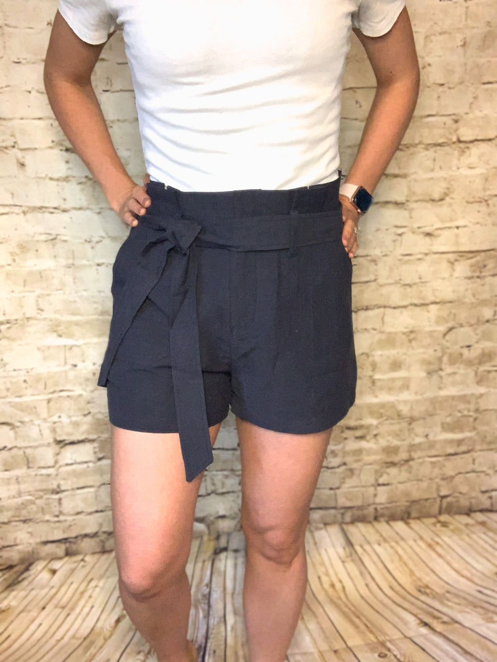 Julia Linen KanCan Shorts