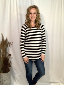 Amy Striped Long Sleeve