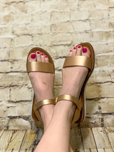 Grace Rose Gold Sandal