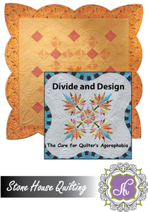 Divide and Design, The Cure for Quilter's Agoraphobia- DVD