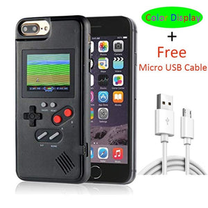 Rechargeable Full Color Display Game Phone Case For iPhone