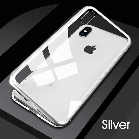 Magnetic Metal iPhone Case