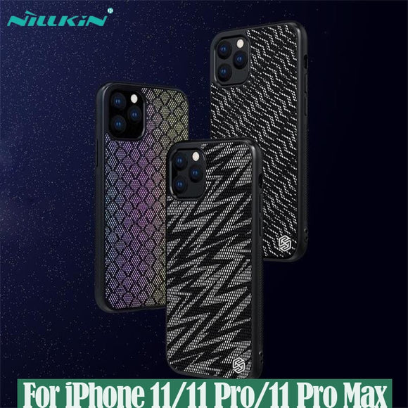 NILLKIN Twinkle Case polyester mesh Reflective protector Cover for iPhone 11