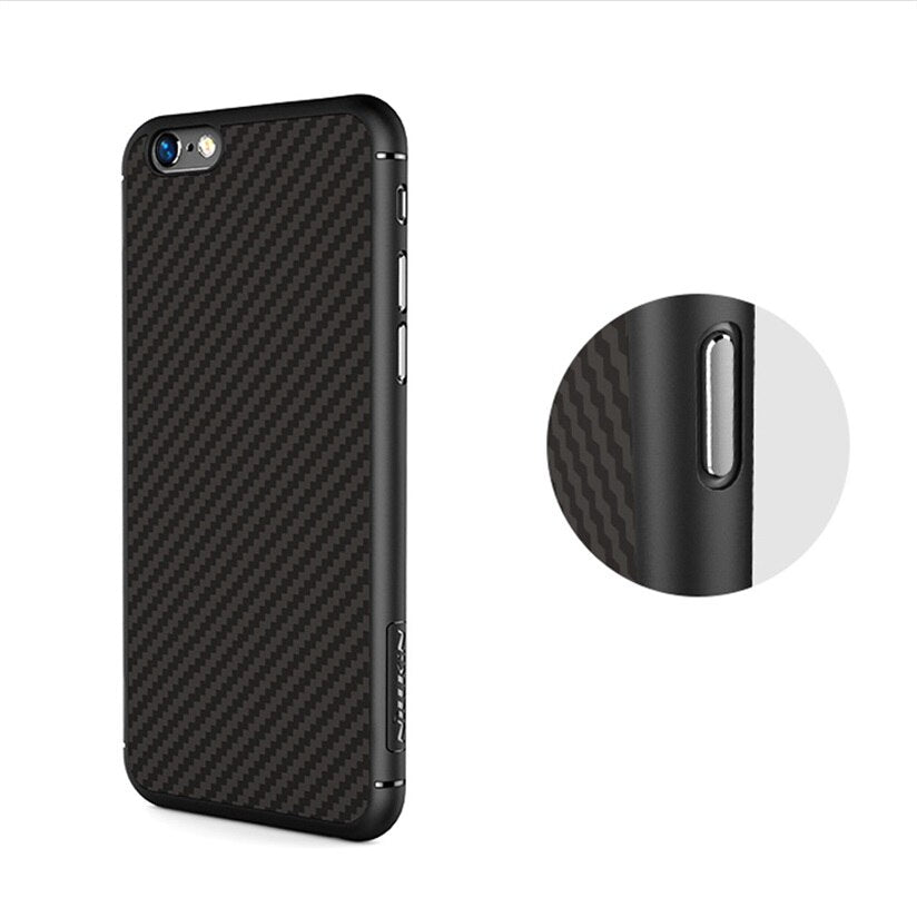 NILLKIN Luxury Cover Synthetic Fiber Phone protector Case For iPhone 6/6S Plus