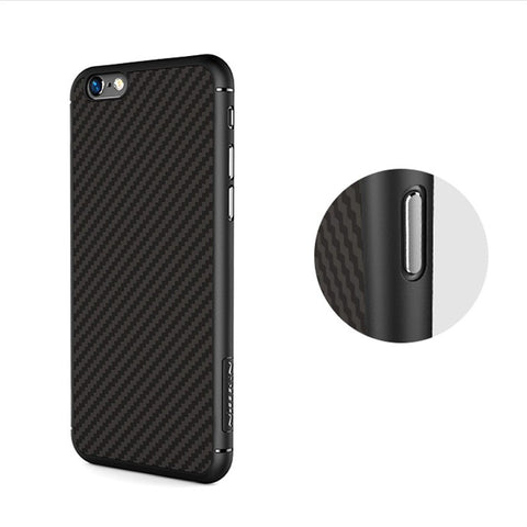 Image of NILLKIN Luxury Cover Synthetic Fiber Phone protector Case For iPhone 6/6S Plus