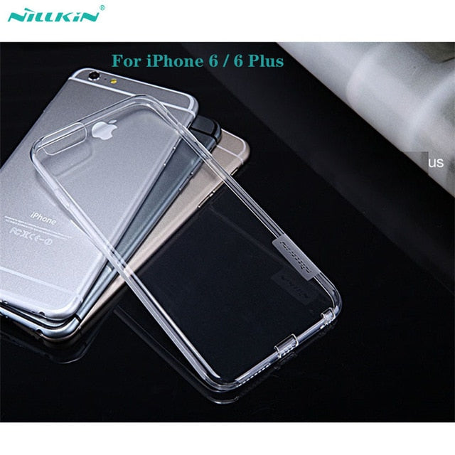 Nillkin Nature Transparent Clear Soft Silicon Case for iPhone 6/ Plus