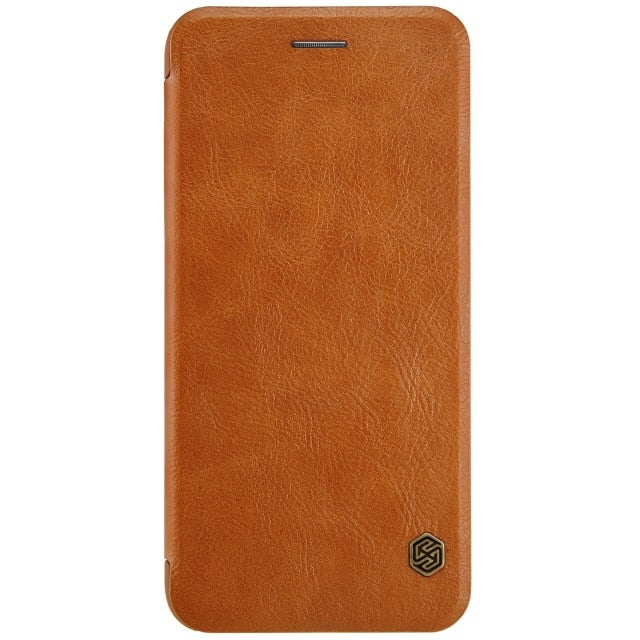 Nillkin Qin Vintage Leather Card Pocket Flip Cover iPhone 7/8