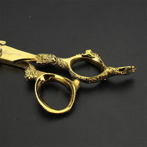 High Quality Professional Hairdressing Scissors Gold