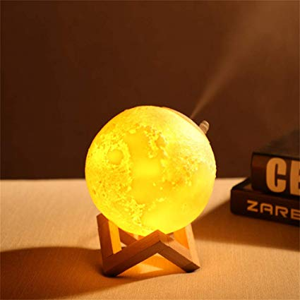 Moon Aroma Diffuser Lamp - Lamps From Space