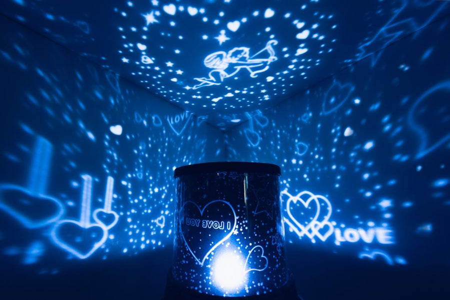 Cupid Star Projector + Love Moon Lamp Bundle - Lamps From Space