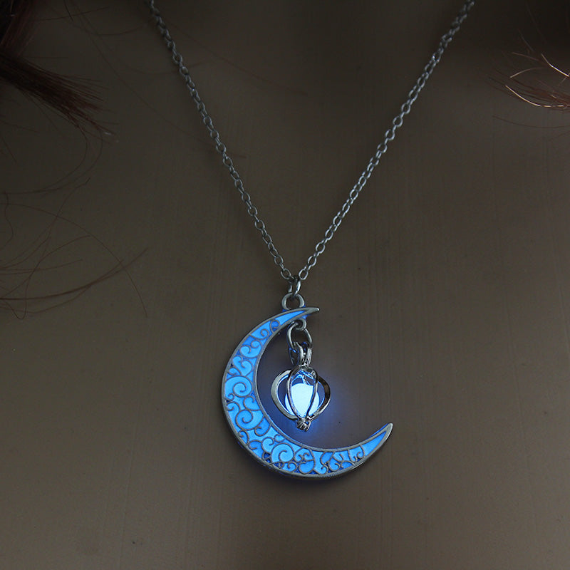 Moon Necklace - Lamps From Space