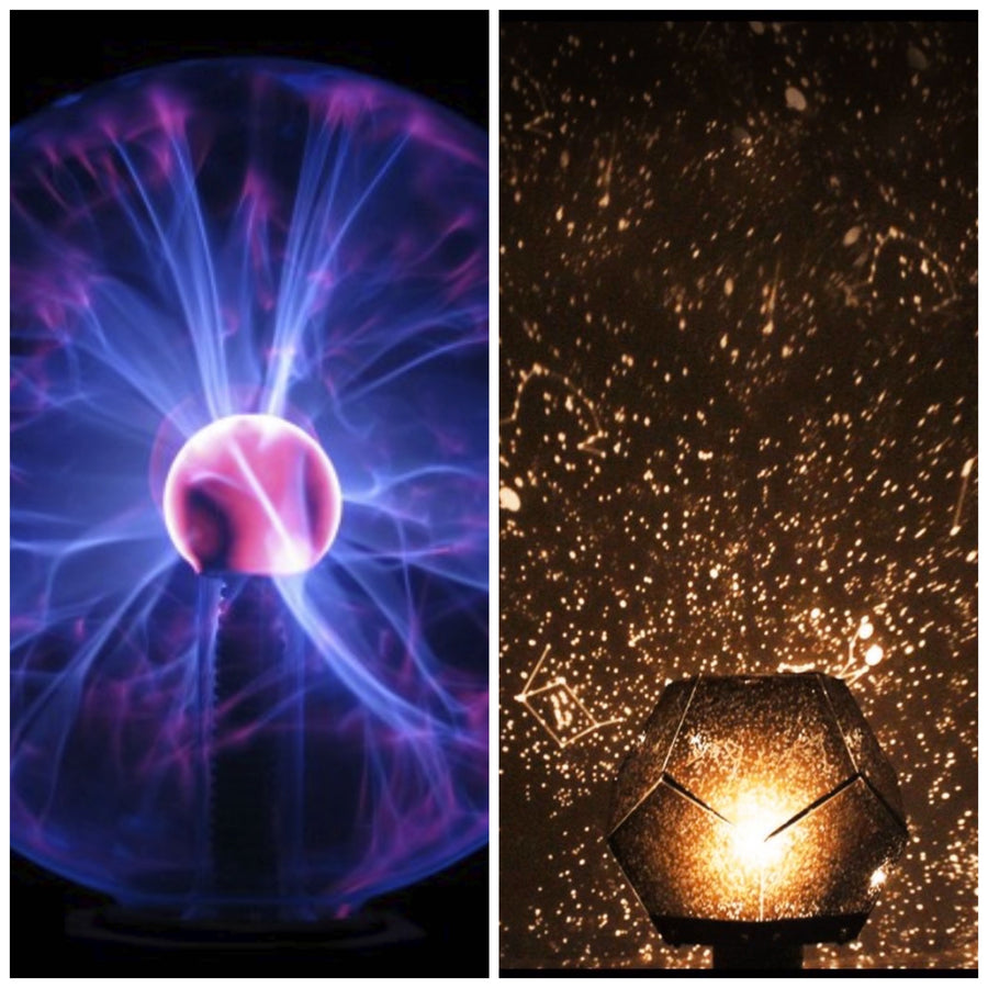 Plasma Lamp + Star Projector Bundle - Lamps From Space