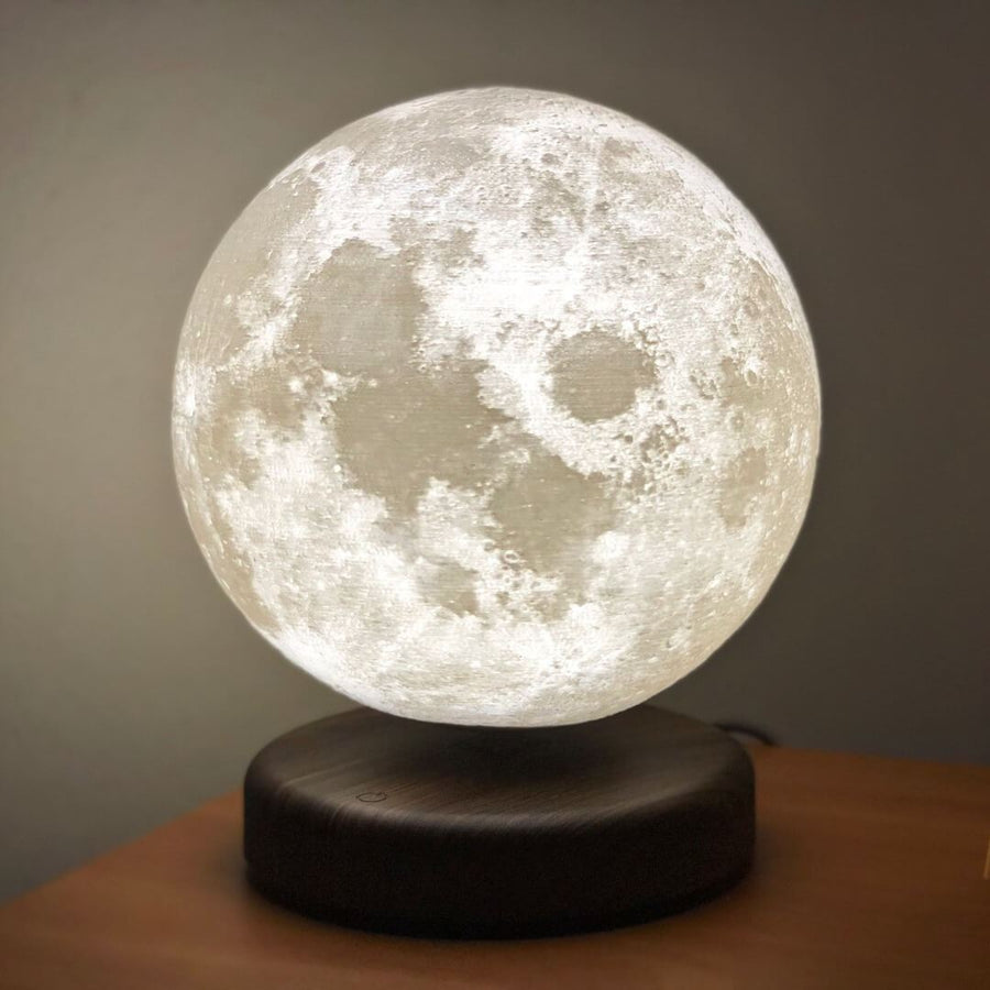 Levitating Moon Lamp - Lamps From Space