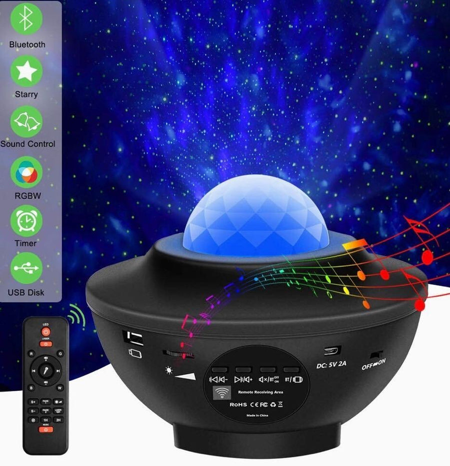 Galaxy Projector + Galaxy Lamp + Moon Lamp Bundle - Lamps From Space