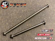 Load image into Gallery viewer, Arrma Titanium Centre Drive Shaft Pair - Infraction / Limitless / Felony