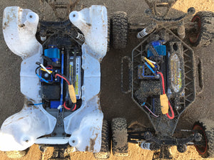 Inner Fender Wells - Traxxas Slash 4x4 LCG