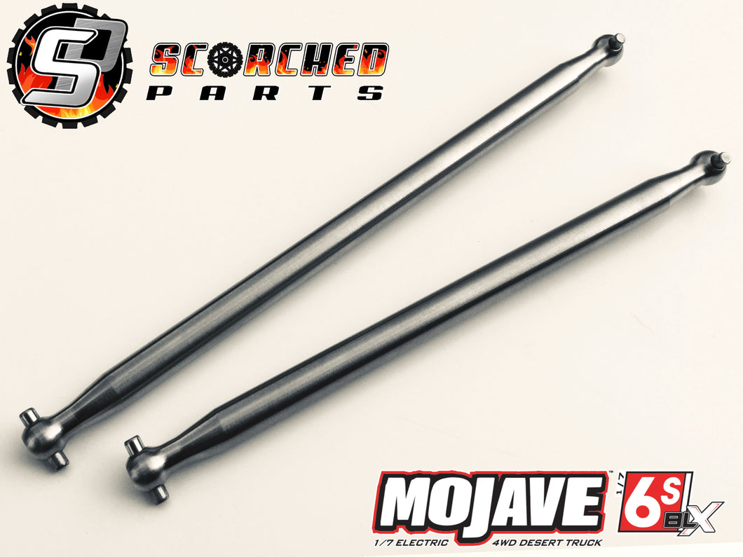 Arrma Titanium Centre Drive Shaft Pair - Mojave 1/7 (Including EXB)