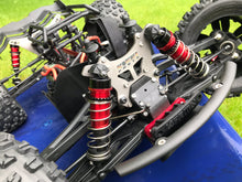 Load image into Gallery viewer, Arrma 6s Titanium Shock Towers - Kraton, Outcast, Notorious