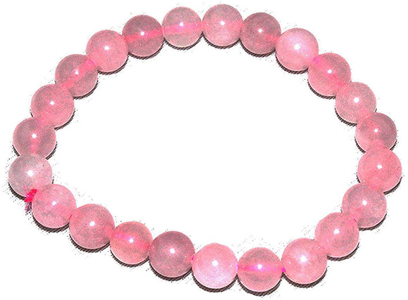 Tibettian Heart - Rose Quartz Bracelet - 1 Pc