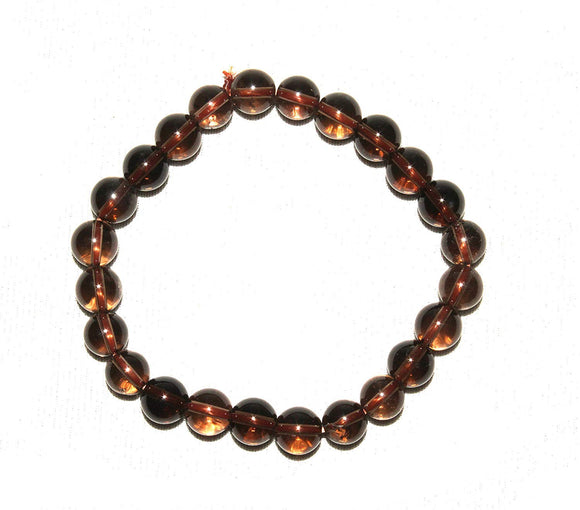Tibettian Heart - Smoky Quartz Bracelet - 1 Piece