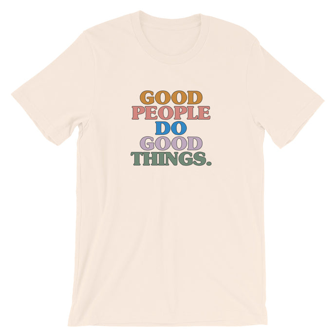 Good People T-Shirt in Cream