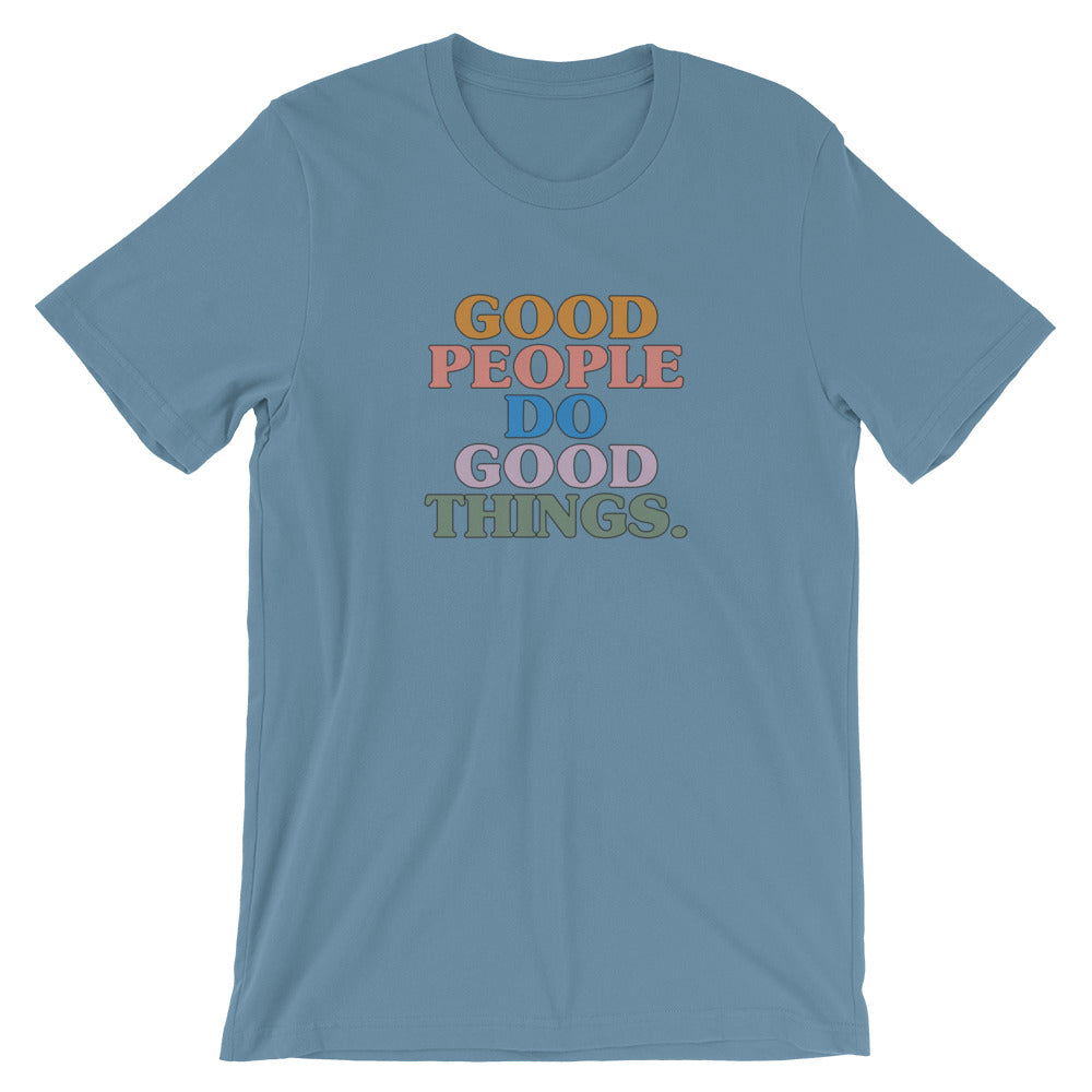 Good People T-Shirt in Blue