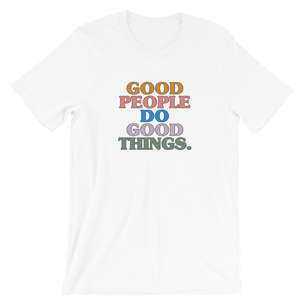 Good People T-Shirt in White