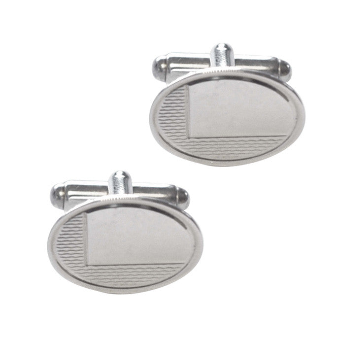 vintage silver cuff links