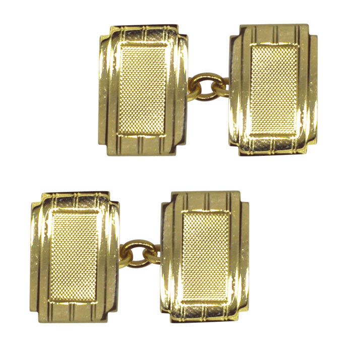 vintage hallmarked cuff links